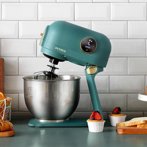 220V 5L Electric Dough Mixer Multifunctional Electric Vegetable Slicer Meat Grinder Noodles Maker Mixer With Accessories