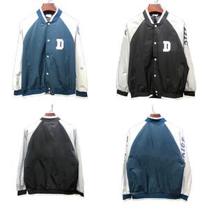 Fashion Designer Imprimé Classique Dickies baseball uniforme à manches longues Veste printemps et les vêtements d'automne Veste Outwear Wadded Manteau