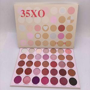 Макияж Рождество ограничено 30 цветов Палитра теней 35XO Natural Flirt Artistry матовые и Shimmer Eye Shadow бесплатная доставка
