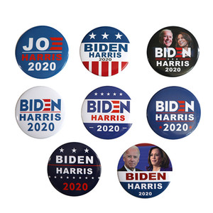 Joe Biden Brooch 2020 US Presidential Election Biden Badge Tinplate Election Badges BIDEN Vote Brooch Pin Party Favors Gifts