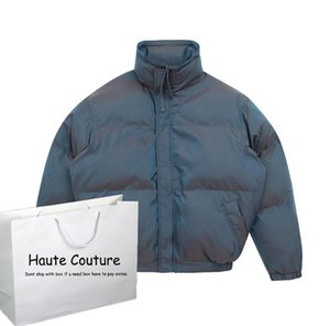 Mens Parkas Coat Solid Laser Color Thick Jackets 2020 New Mens Puffer Jacket Outdoor Warm Tops Boys New Down Wholesale