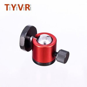 "Tiyiviri Mini trípode Ball Head para Canon Nikon Sony DSLR cámara Camcorder DV mini trípode LED luz de flash de luz con 1/4 ""1"