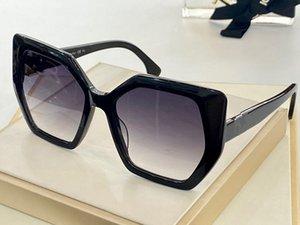 0482 Nuove Signore Advanced Signore Vendita Occhiali da sole Usa Lett Leg Top Monocle Occhiali quadrati Anti-UV400 Lente Top Avant-Garde Glasses Invia scatola