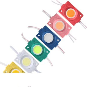 2.4W Ultra Bright COB LED Module Light Pure Warm White Strip Light Lamp Bead Chip DIY DC 12V Lighting Waterproof