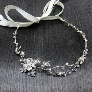 Npason Europäischen Stil Brautstirnband Handgemachte Brautkleid Zubehör