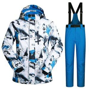Лыжный костюм Mutusnow лыжи мужской костюм, водонепроницаемый, толстый и теплый