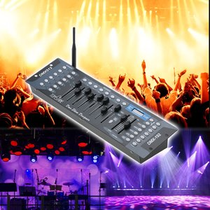 Tomshine 192 Kanäle Stage Light DMX512 Wireless Controller Console mit Sender Partei DJ Disco Operator Equipment