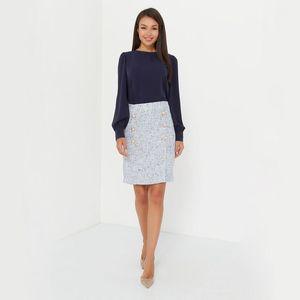 Shyloli Casual O-cuello Fashion Lantern Sleeve Blusa Camisas Mujeres Sólido Color Elegante Blusa Nueva Llegada 2021 Office Lady Wear