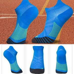 Compression Cotton Basket Short Stockings Fashion Half Pressure Soccer Sports Socks Striped White Black Colorful Socks Unisex