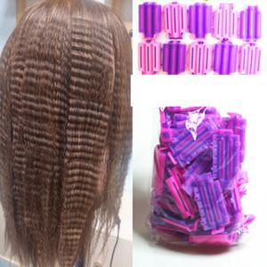 45 pcs / set rolos de cabelo raiz braçadeiras fofas onda perm perm haste diy barras de milho clipes de milho curler curling curlers estilista para mulheres meninas