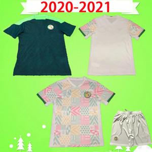20 21 세네갈 축구 유니폼 최고의 품질 2020 2021 홈 화이트 멀리 그린 발드 koulibaly Mane Senegal 축구 셔츠 반바지 소매