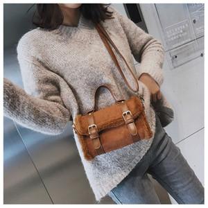 New Arrival Women Fluffy Bag Cute Shoulder Bags Handbags Crossbody Bag Backpack Totes Shoulder Bag Wallet Purses 21011401L