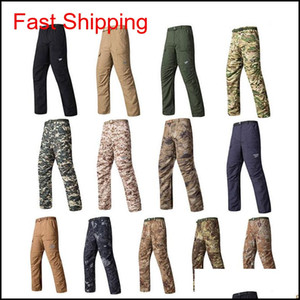 Outdoor Woodland Hunting Shooting Battle Dress Uniform Tactical Bdu Army Combat Clothing Quick Dry Shorts Camouflage Pants No05-112 Uflw0