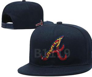 2020 Braves hat baseball hat snapback Strapback flat edge dance hip-hop cap street men's and women's sunshade fashion hat a18