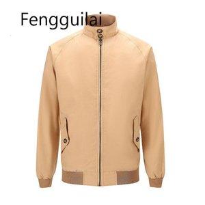Fengguilai 2020 Erkek Ceket Yüksek Kalite Moda Jeans Ceketler Dar Kesim Casual Streetwear Vintage Erkek Giyim İlkbahar Dış Giyim