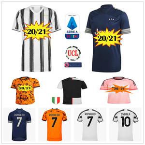 2020 2021 Casa Away Third 3rd 4th Soccer Jersey Custom qualsiasi nome numero 20 21 uomini donne bambini 2019 20 21 bianco camicia da calcio arancione arancione