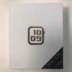 2021 Новый T500 Sport Smartwatch Bluetooth Electronic Часы Сердца Спящий Трекер с Микрофоном Многоязычный T500 Оптом Качество