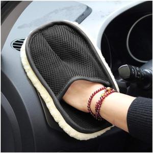 Car Styling Wolle Soft Car Wash Glove Reinigung Reinigungsbürste Motorradreiniger Pflegemittel Zubehör