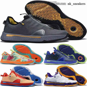 eur 13 IV size us scarpe 12 children ladies 4s trainers women paul 47 tenis george sports mens pg 4 shoes 38 46 pg4 basketball Sneakers men