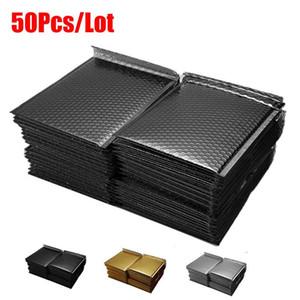 선물 포장 50 PCS / LOT 금 도금 종이 버블 봉투 가방 메일러 패딩 봉투 우편 가방 다른 사양