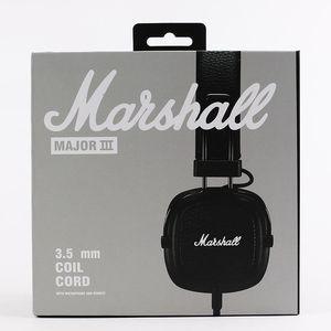 Marshall Major III 3 .0 Fone de Ouvido Bluetooth DJ Fone de Ouvido Deep Bass Bass Isolando Headset Fone de Ouvido Fone de Ouvido Maior III 3 .0 Bluetooth Wireless