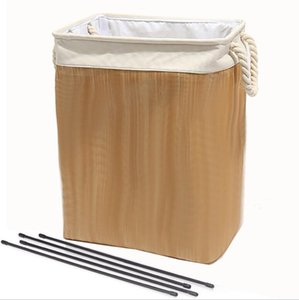 Laundry Bag Folding Washing Bin Collapsible Oxford Washing Dirty Clothes Laundry Basket Portable Laundry Storage Bags sea shipping EEB4365
