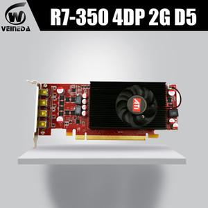 VEINEDA placa gráfica R7 350 2GB GDDR5 128Bit 4DP placas de vídeo para NVIDIA Geforce