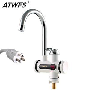 Aquecedores da água do aquecedor de água instantânea do ATWFS 110V 2500W Aquecedores quentes e frios para a cozinha instantânea Tapete elétrico T200423