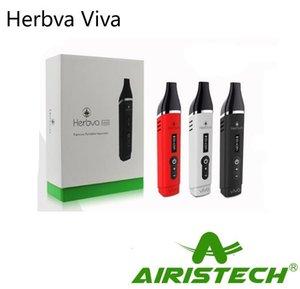 Authentic Airisvape Herbva Viva Vaporisateur Vaporisateur 2200mAh Vaporisateur Sèche Herbe Airis Kit Température Contrôle de la température Premium Vape Stylos Kit 100% Original