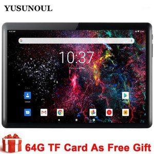 2020 New Tablet Pc 10 inch Android 9.0 Google Play 3G Phone Call Tablets WiFi Bluetooth GPS IPS 2.5D Tempered Glass+Free Gifts1