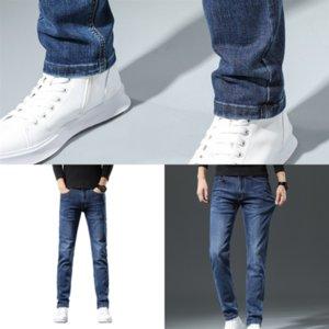 k2dvg marca jeans denim oscuro alto suave hombres pantalones de lujo estiramiento recto slim fit hombres jeans color chaqueta diseñador jean hombre calidad algodón