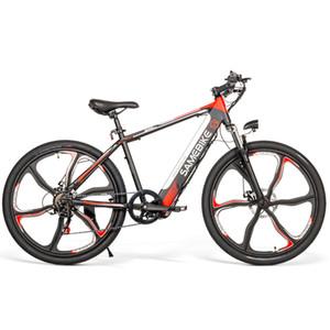Samebike Ebike Электрический велосипед 26 дюймов Мощность Assist Электрический велосипед мопед E-Bike 8AH 60 - 70 км Диапазон 180кг Макс. Загрузить 36V 250W