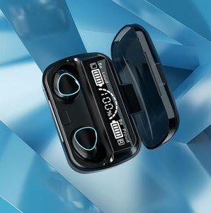 M10 TWS Bluetooth Earphone Wireless Headphones Stereo Sport Wireless Earphones Touch Watyerproof headset earbuds with Microphone 2000mAh