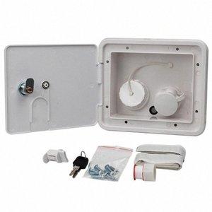 Gravity Ville Caravan Leakproof Fill Universal Integrated place Easy Install Dish Hatch RV verrouillage entrée d'eau commandable z2DJ #