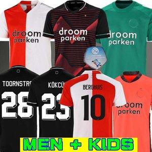20 21 Feyenoord camiseta de fútbol camiseta de fútbol Berghuis JORGENSEN KOKCU camisa de futebol SINISTERRA camiseta de Fútbol Toornstra maillot pies