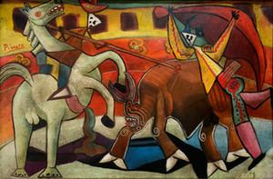 Pablo Picasso Artista español Decoración del hogar Pintado a mano Pintura al óleo de impresión HD sobre lienzo Arte de la pared Imagen de lienzo para la decoración de la pared 201116