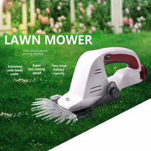 12V Akku-protable Rasenmäher Gras Hausgarten Grasschere Schere Schere edger Heckenschere Astschere QeRV #