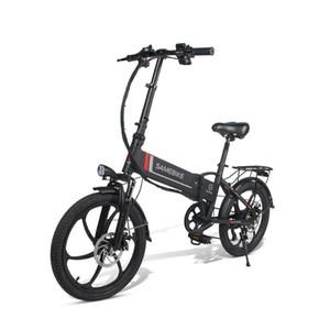 20 дюймов Samebike 20LVXD30 складной электрический велосипед электрические велосипеды 350W 48 В макс. Максимальная скорость 35 км / ч взрослые электрические велосипедные скутер