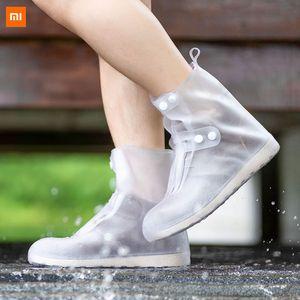 Xiaomi Zaofeng Waterproof Shoes Cover Durable Wear-resistant Washable Outdoor Reusable Non-slip Shoe Covers Reusable Rain Boots