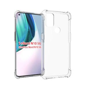 Air Cushion Corner TPU Case for OnePlus Nord N10 N100 8T Realme 7 P SMART 2021 MI 10T Lite A42 5G HTC U20