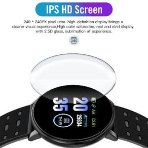 119 Plus Smart Pulsera Fitness Tracker ID119 Reloj Reloj de la ritmo cardíaco Weddband Smart Muñequera 119Plus para teléfonos celulares con caja Fitbit MI