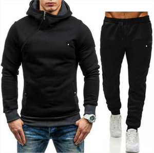 Mens Tracksuits Lettera Stampa Swimsuits in pile Fleece Fashion Hommes Jogger Fit Suits Prodorover con cappuccio con cappuccio Casual Casual Pants Outfits Zrtz2Jt