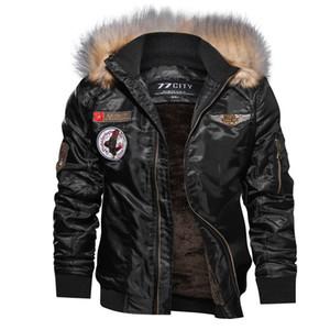 Giacca in pelle KANCOOLD Nuovo Autunno Inverno Moto uomini Giacca a vento con cappuccio PU Giacche Maschio Outwear Warm PU Baseball Jackets 824 Q1110