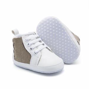 Toptan-Sıcak Yeni 0-18 M Bebek Kız İlk Walkers Güzel Yumuşak Sole PU Prenses Ayakkabı Yenidoğan Bebek Kaymaz Beşik Ayakkabı Toddler Yay Ayakkabı