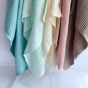 القطن الهراء الطفل منشفة حمام غطاء الهراء الشاش الصيف لالكبار الاطفال الرضع استخدام التفاف بطاطين
