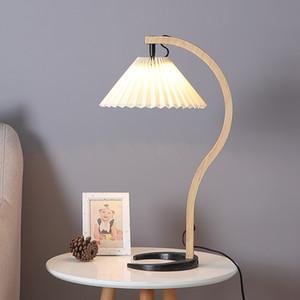 Современный металл Деревянный стол свет Villa Hotel Home Гостиная Спальня прикроватный Reading Настольная лампа TA258