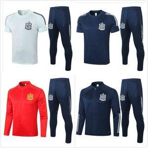 2020 Испания взрослых Jacket Tracksuit Camiseta españa Мората 20/21 рубашки поло FABREGAS R FABREGAS RAMOS DIEGO ISCO футбол куртка спортивный костюм