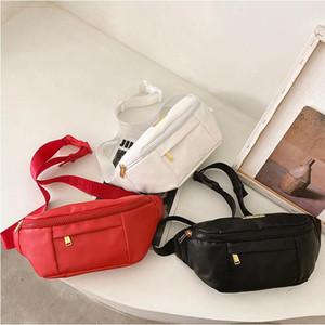 Waist Bags Fashion Pu Leather Handbags Outdoor Trave Women Fanny Packs Handbag Lady Belt Chest bag 3 colors Free Shipping