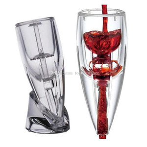 New Crystal Wine Aerator Wine Magic Decanter Poleer Set Premium Decanter для любителей вина с подарочным мешком