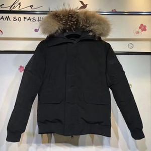 baixo a proteção de inverno frio jaqueta à prova de vento de moda quente para baixo casaco com pele manter aquecido quente casaco de inverno e engrossar confortável